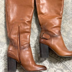 Tall Cognac Vince Camuto boots